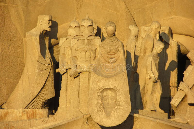 Een beeldhouwwerk royalty-vrije stock afbeeldingen