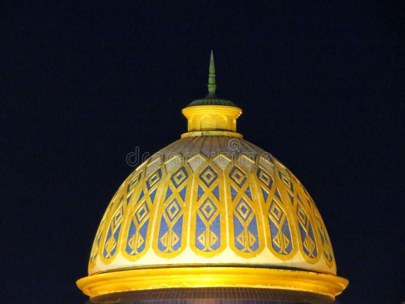 Een beroemde moskee in Barisal, Bangladesh stock afbeeldingen