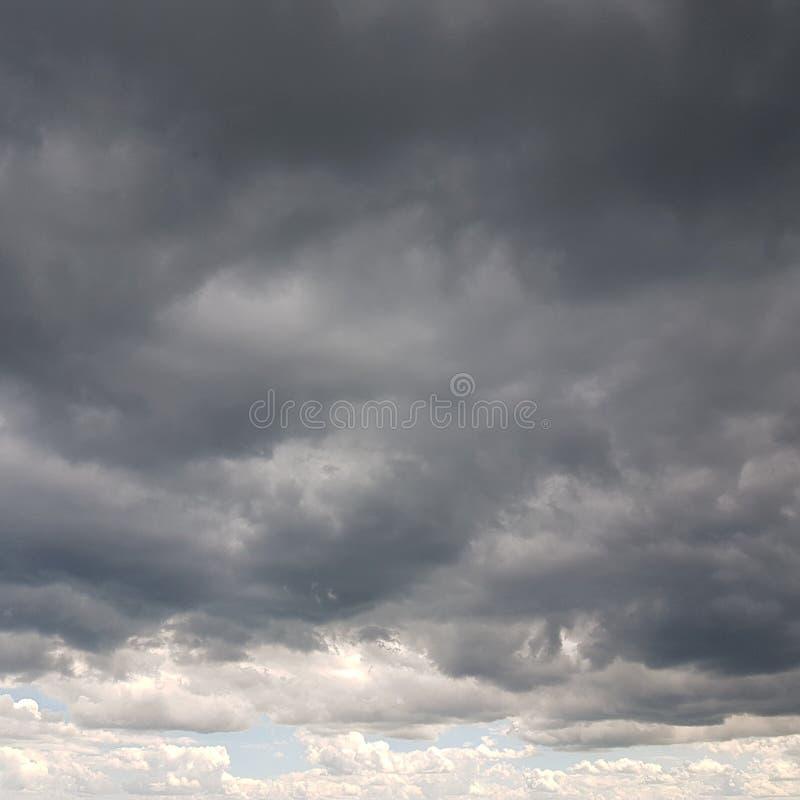 Een Bewolkte Hemel Noord- van Norfolk royalty-vrije stock foto