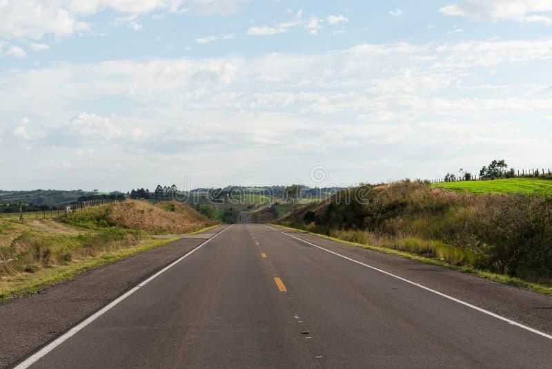 Een blik op snelweg en zijn bestemming 03 royalty-vrije stock foto's