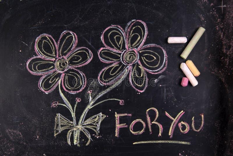 Een bloem voor u royalty-vrije stock fotografie
