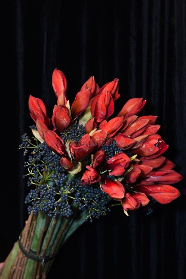 Een boeket van bloemen stock foto's