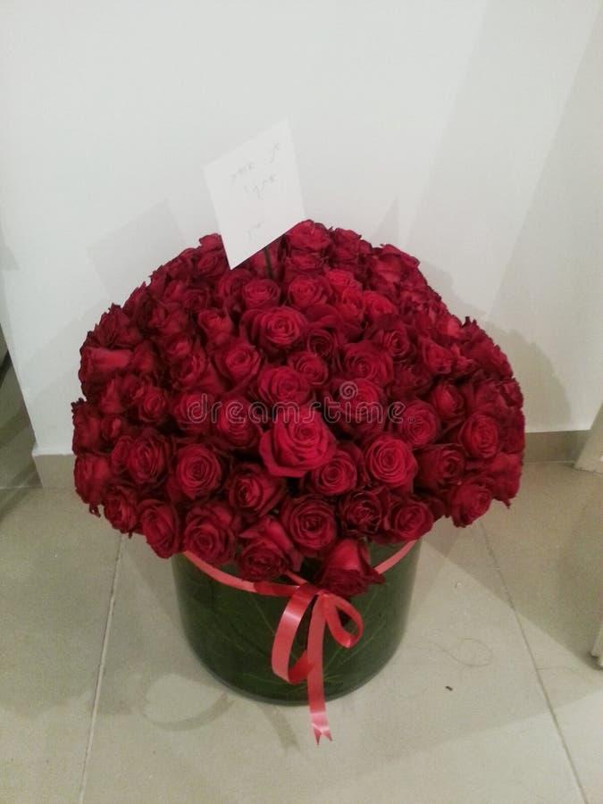Een boeket van rose& x27; s royalty-vrije stock foto