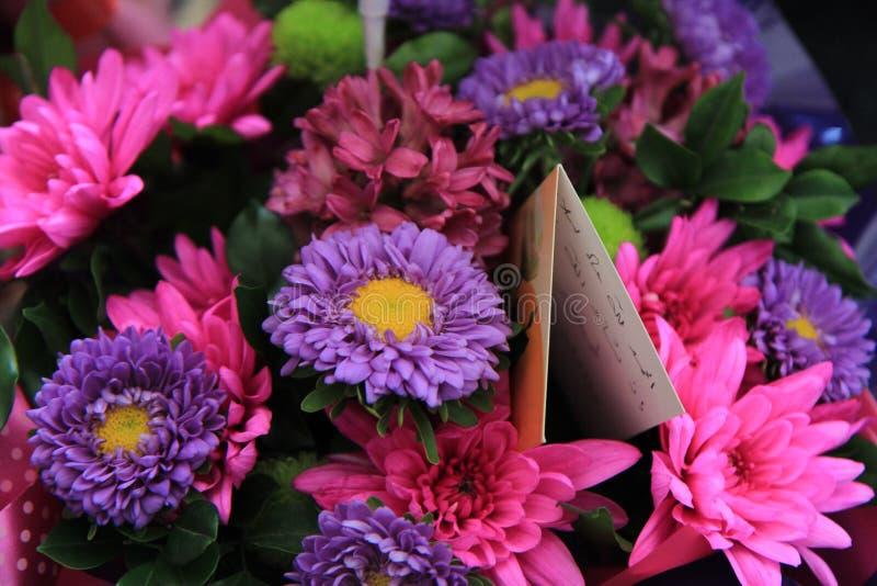 Een bos van bloemen royalty-vrije stock foto