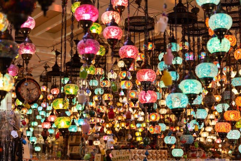 Een bos van Turkse lampen royalty-vrije stock afbeelding
