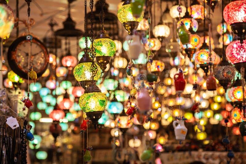 Een bos van Turkse lampen royalty-vrije stock foto