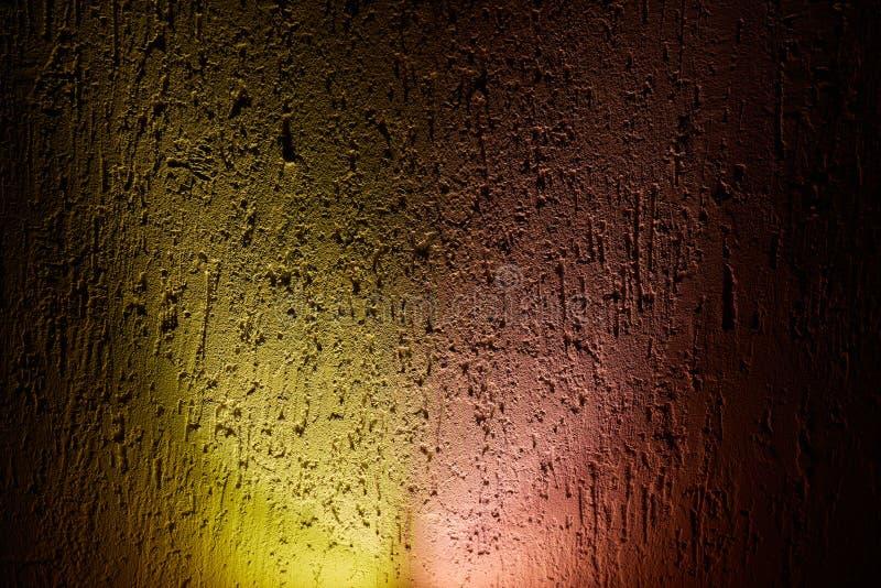 Een brede gloed van roze en geel met de overgang aan elektriciteitspanne royalty-vrije stock afbeelding
