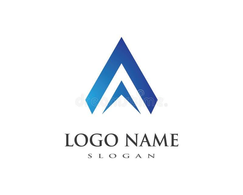 Een Brief Logo Business royalty-vrije illustratie