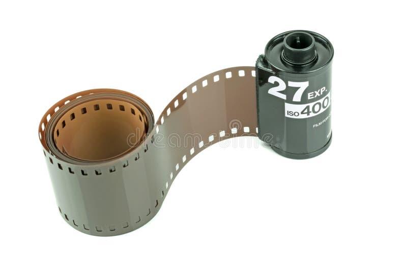 Een broodje van 35mm camerafilm royalty-vrije stock fotografie