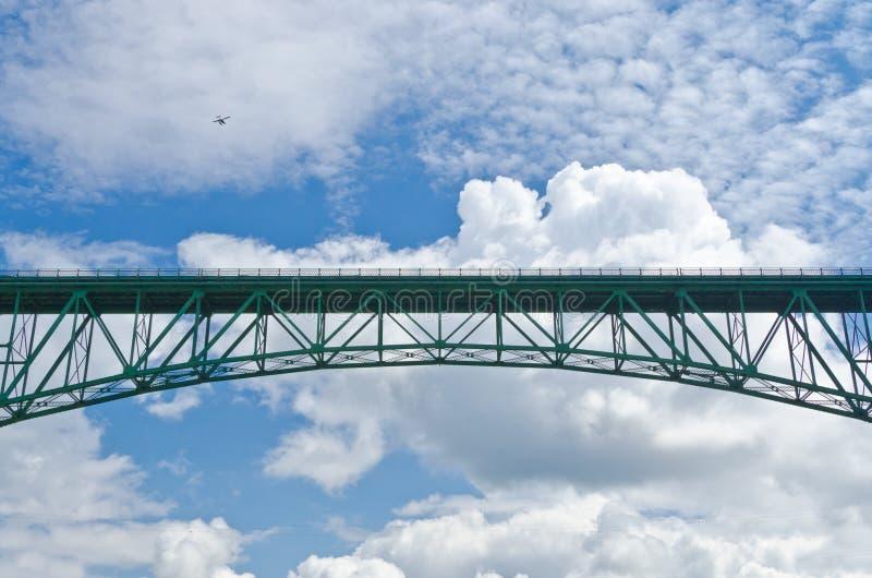 Een brug. royalty-vrije stock fotografie