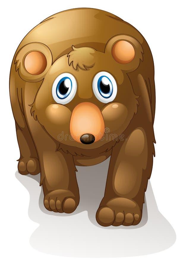 Een bruine beer royalty-vrije illustratie