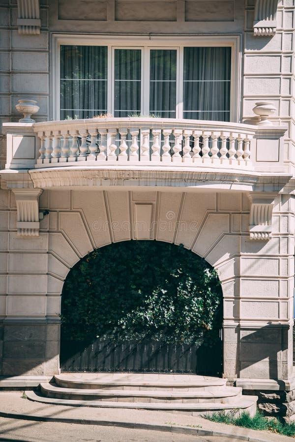 Een buitensporig balkon royalty-vrije stock foto