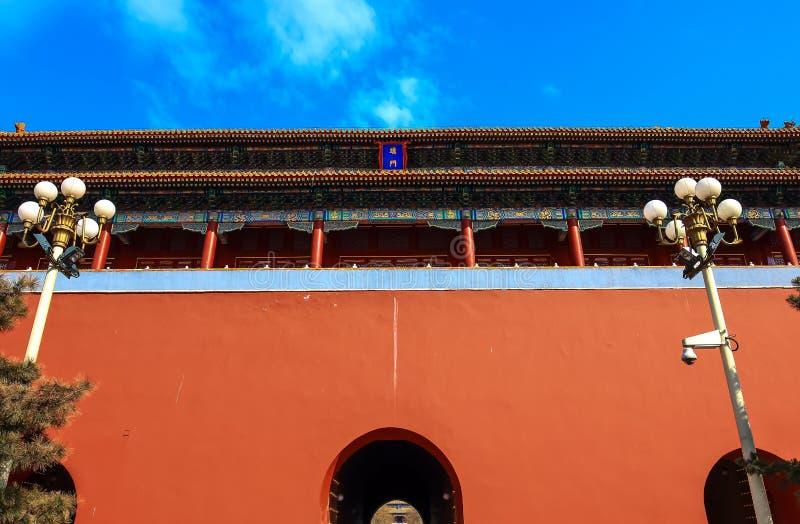 Een close-up van prachtige Duanmen royalty-vrije stock foto's