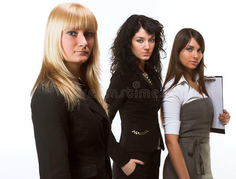 Een commercieel team royalty-vrije stock afbeelding