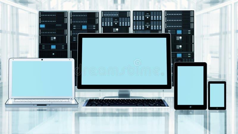 Multi platformMedia vector illustratie