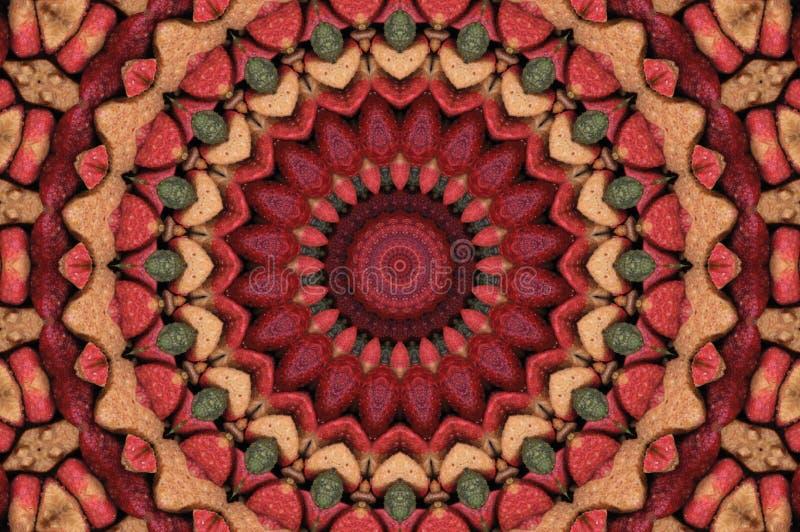Een computer produceerde 360 graden herhaalt patroon vector illustratie
