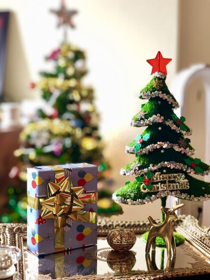 Een concept van het Kerstmisbeeld royalty-vrije stock afbeelding