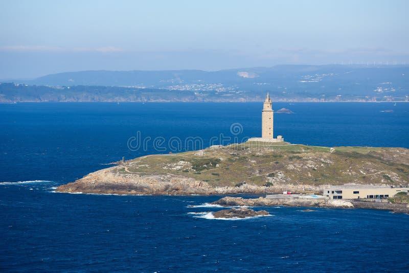 Een Coruna - Toren van Hercules royalty-vrije stock foto's