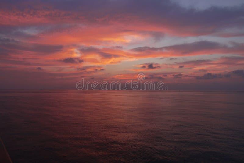 Een cruiseschip royalty-vrije stock foto's