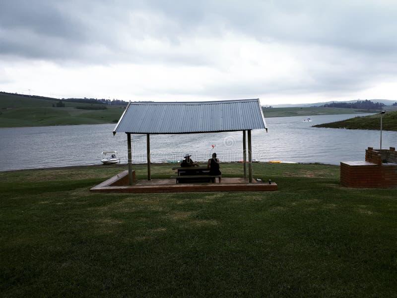 Een Dag bij de Dam stock afbeelding