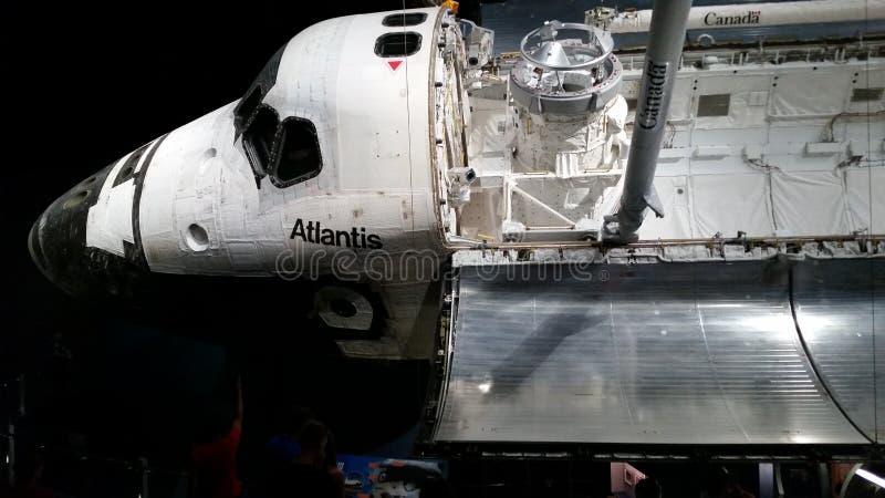 Een dag met astronauten stock afbeeldingen