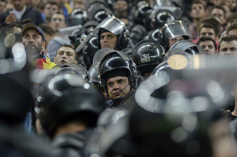 Een dag op het werk voor Politiemachten stock afbeelding