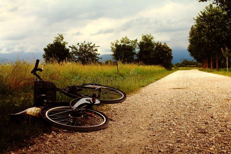 Een dag in platteland stock fotografie
