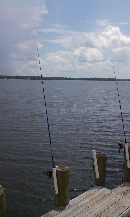 Een dag van Visserij stock foto