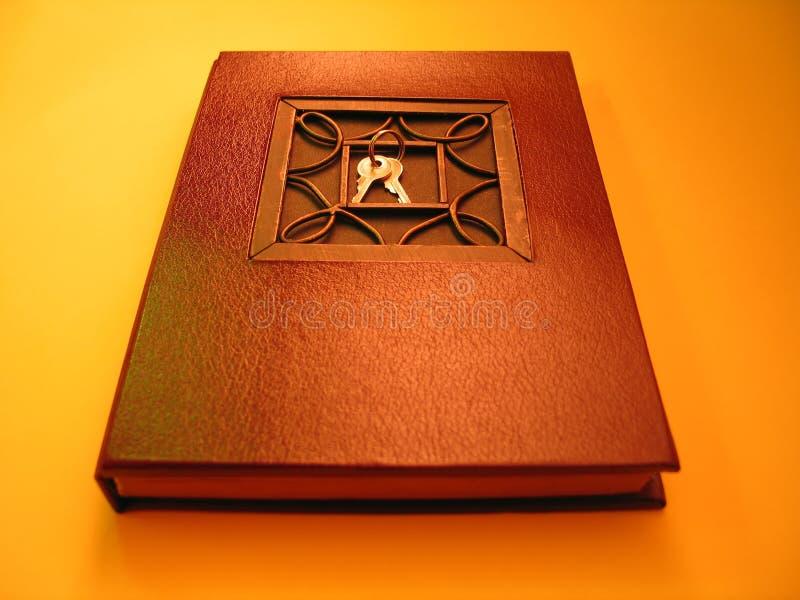 Een dagboek stock fotografie