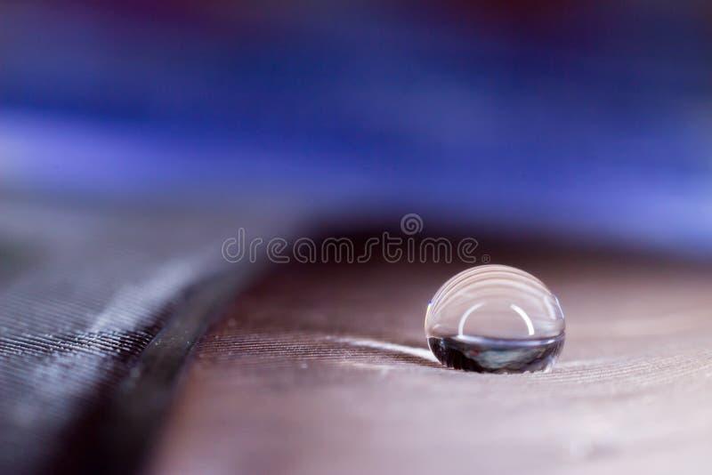 Een daling van zuiver water stock fotografie