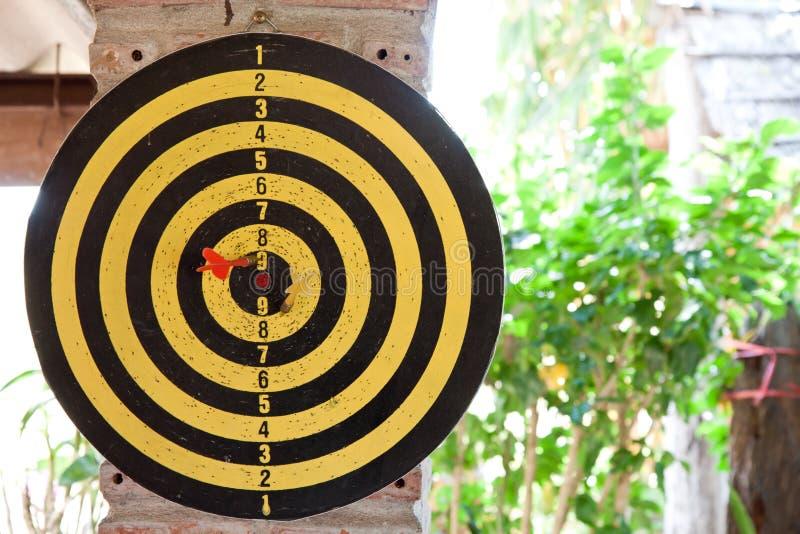 Een dartboard stock afbeeldingen