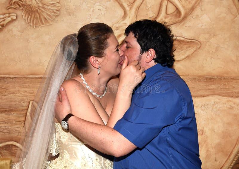 Een de lentehuwelijk royalty-vrije stock foto's