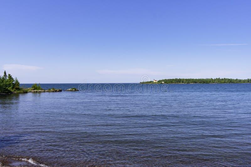 Een de Zomerdag in Koperhaven stock foto