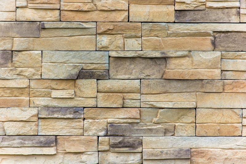 Een deel van een bakstenen muur, textuur of achtergrond stock foto