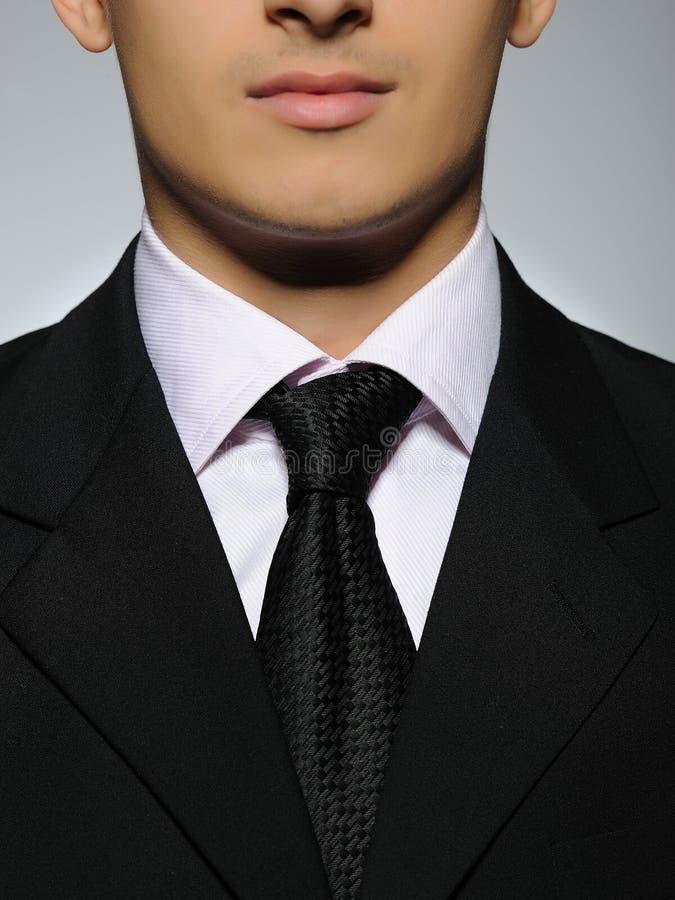 Een deel van de succesvolle bedrijfsmens in formeel kostuum royalty-vrije stock afbeeldingen