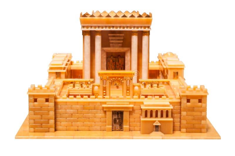 Een deel van de tempel van Herod stock foto's