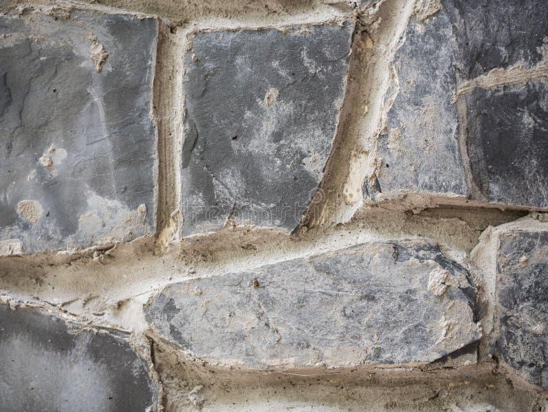 Een deel van de textuurachtergrond van de steenmuur royalty-vrije stock afbeelding