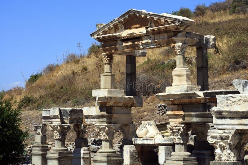 Een deel van Ephesus stock afbeeldingen