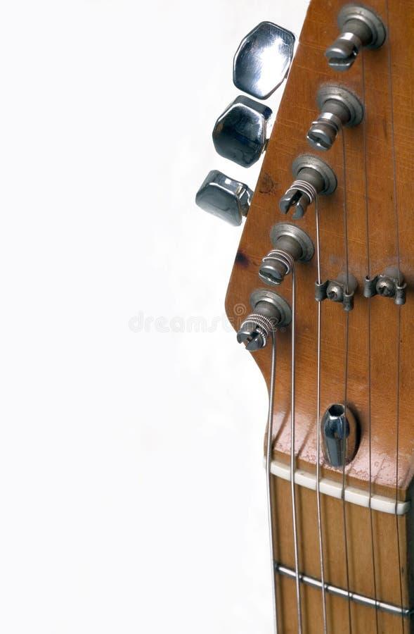Een deel van gitaar stock fotografie