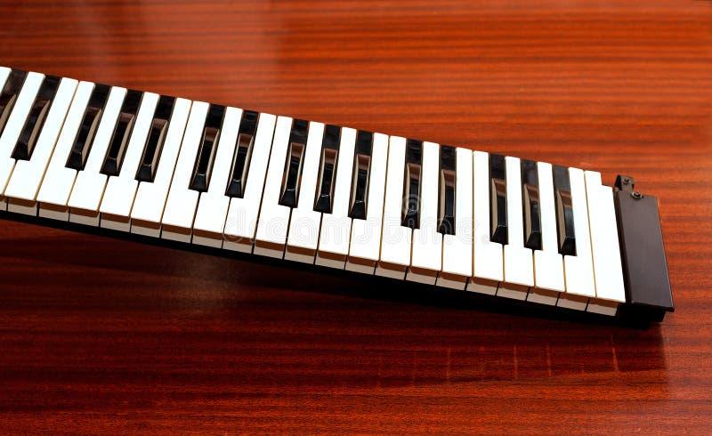 Download Een Deel Van Het Muziektoetsenbord Stock Foto - Afbeelding bestaande uit overleg, deel: 114226426