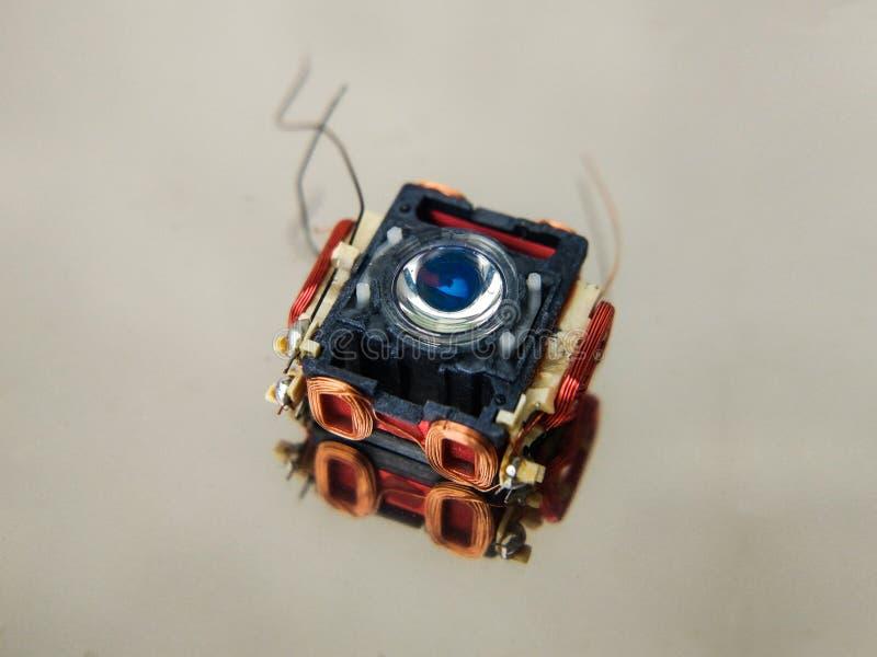 Een deel van een laser royalty-vrije stock afbeeldingen