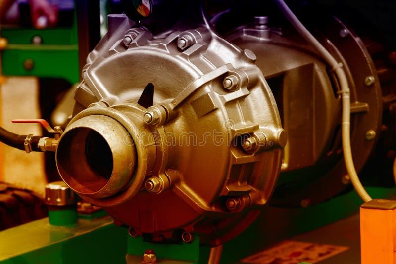 Een deel van motor stock foto's