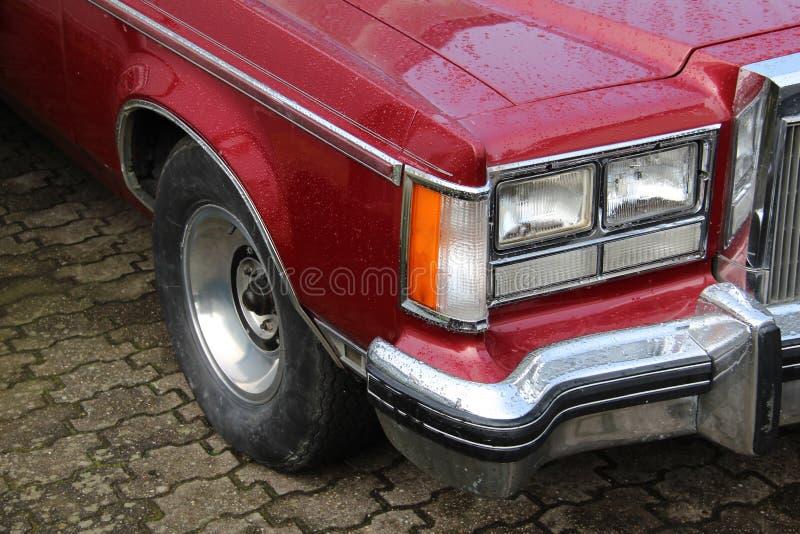 Een deel van oude auto dichte omhooggaand stock afbeeldingen