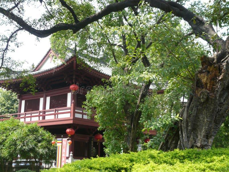 Een deel van tempel Guangxiao royalty-vrije stock afbeelding