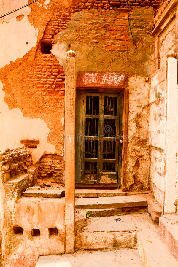 Een deur stock afbeelding