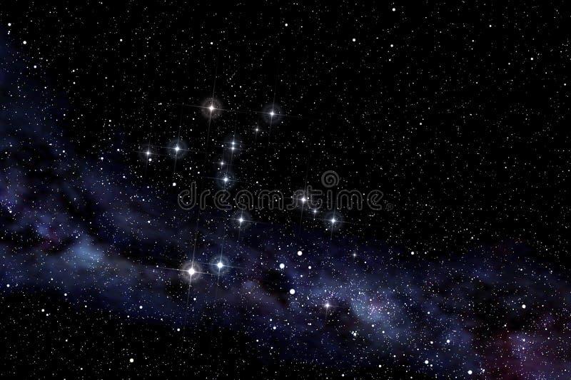 De constellatie van Cerntaurus royalty-vrije illustratie