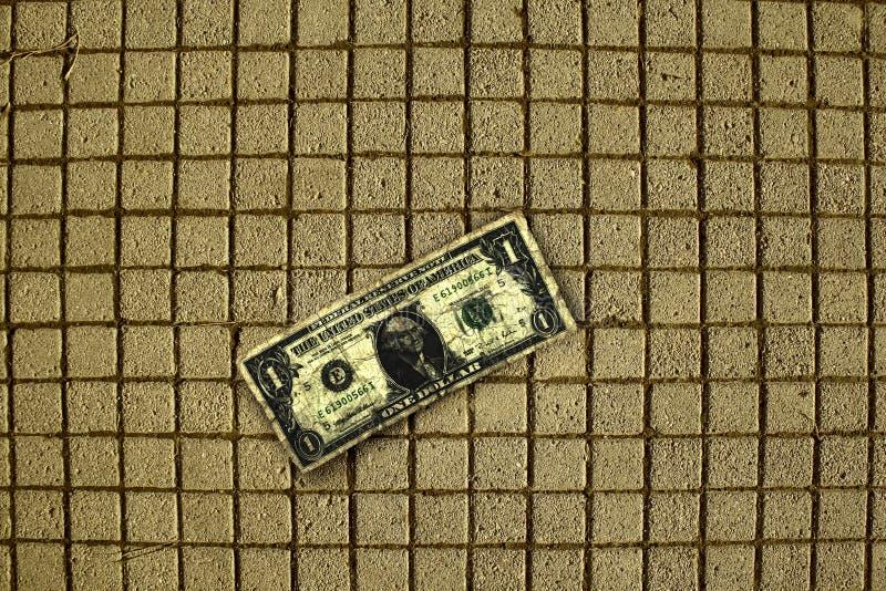 Een dollar stock foto