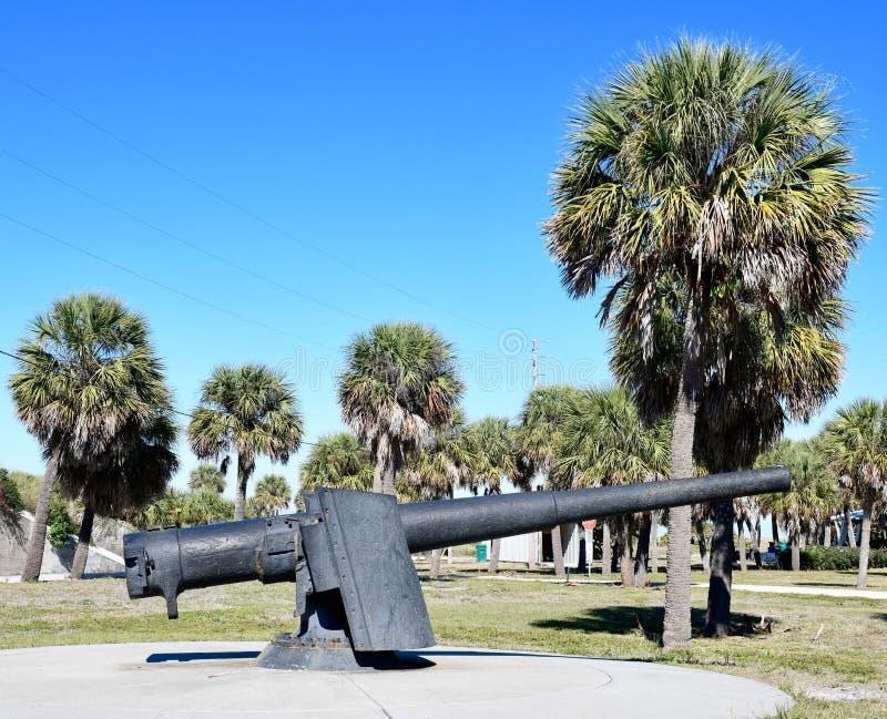 Een 6 duim 40 het Kanon van Armstrong van de kaliber snel-Brand royalty-vrije stock afbeeldingen