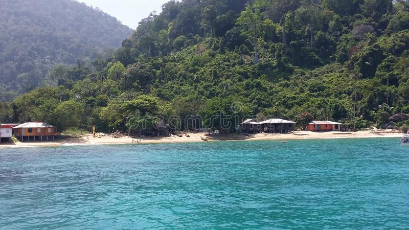 een eiland royalty-vrije stock afbeelding