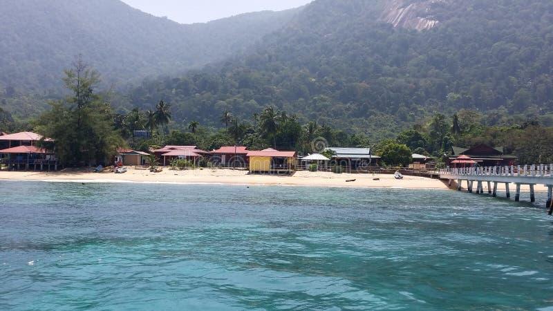 een eiland stock afbeelding